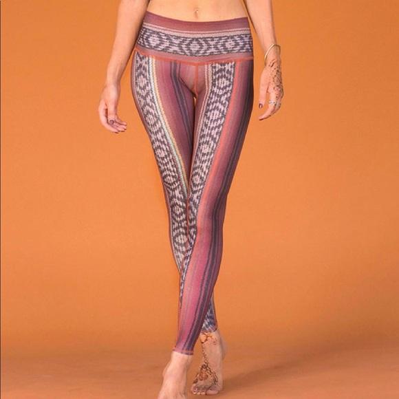 59d419137f teeki Pants | Yoga Legging Border Towns Hot Pant M | Poshmark